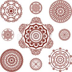 Mehndi - links to more designs