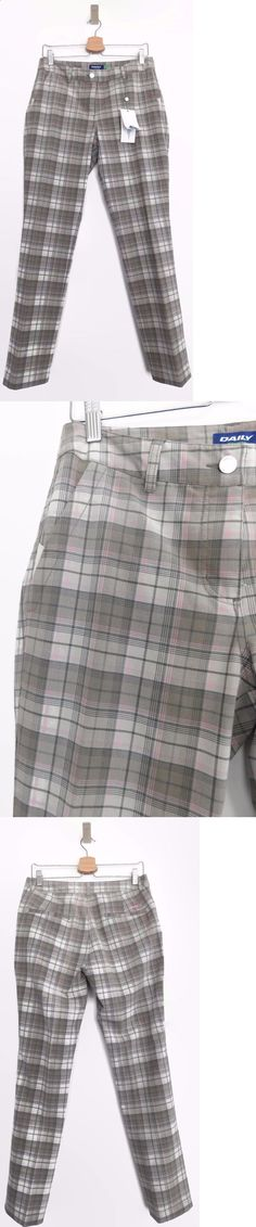 Pants 181148: New Ladies Us 8 Daily Sports Karly Plaid Golf Pants (Multi-Color) -> BUY IT NOW ONLY: $44.99 on eBay!