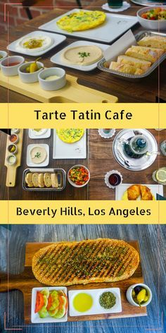 Mediterranean (Moroccan,Israeli ) breakfast at Beverly Hills, Los Angeles