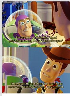 Toy Story is so funny and clever