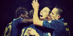France's Victory against Ukraine. Qualification's for the World Cup in Brazil.