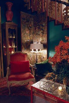 by tony duquettte I want to cozy up into this space right now.