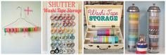 Win 25 rolls of Washi Tape from Downtown Tape and check out 30+ Fun & Simple Washi Tape Ideas and Tutorials while you are at it!