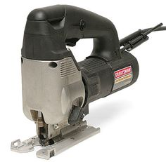 Craftsman Professional Powerful 5.0 AMP, permanently sealed 100% ball bearing motor provides 800-3000 SPM. Variable speed dial allows for proper selection of the motor speed for the material being cut. Ample power to cut or plunge through soft and hard woods. A flip of the switch allows for quick adjustment of the pitch to the blade, to control the amount of orbiting action, detents securely lock the selection in position. Choose from fast, slow for variety of wood or metal surfaces to be…