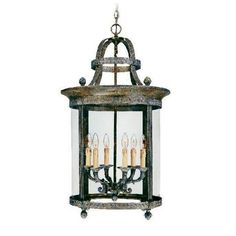 World Imports French Country Influence 6 Light Hanging Lantern