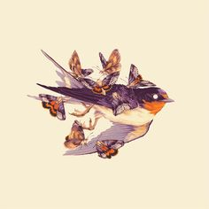 Teagan White is a freelance illustrator specializing in intricate drawings of flora and fauna, playful watercolors of animal characters, and illustrated. Drawn Art, Guache, Bird Art, Traditional Art, Animal Drawings, Art Inspo, Amazing Art, Watercolor Paintings, Cool Art