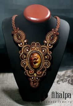 Padaka Necklace Soutache