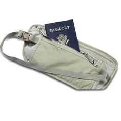 SE Travel Pouch This product has dual zippered pockts. Measures 10 in. x 3.5 in.. It is durable and lightweight! Has strong elastic straps to fit securely and comfortably around your waist. Click Pic for More Info