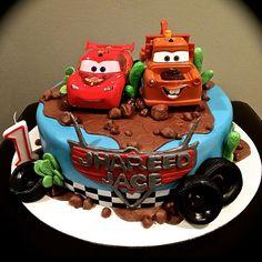 """Sweety Cakes - Disney's """"Cars"""" cake  www.sweetycakes.ca"""