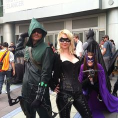 WonderCon 2014 Black Canary and Green Arrow  Flickr - Phot...
