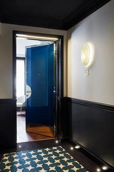 Le Roch Hotel & Spa - Couloir de l'hôtel