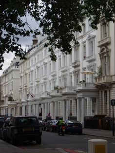 Beautiful houses in Maida Vale, UK