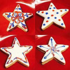 4th of July cookies #mikkisjar
