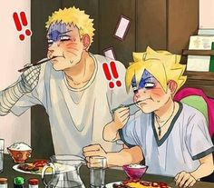 When daddy sasuke cook for the first time