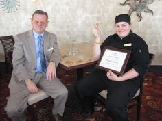 """Meet Amanda! Heidel House Resort & Spa People Pleaser for December 2013. """"Amanda has been instrumental in the transition of sous chefs at Grey Rock,"""" said Bryan Market, Grey Rock sous chef. #EmployeeOfTheMonth"""