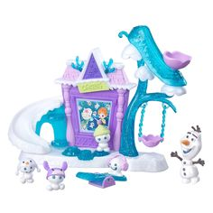 Disney Frozen Little Kingdom Olaf's Snowgie Playground