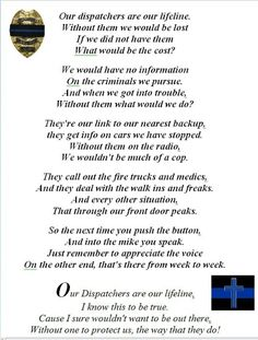 if only people thought this way..if you're a dispatcher you probably understand what I mean
