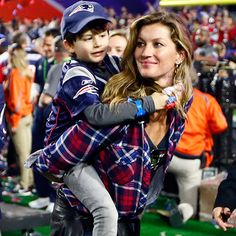 We all know last night's real winner was Gisele.