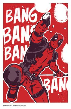 You just know it's him making the noise and not the gun.  - Deadpool by Michael Walsh