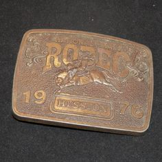 Vintage Belt Buckle Limited Edition Bicentennial by SwaggerMan, $75.00. What I want for my birthday!