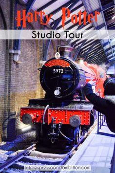 Harry Potter Studio Tour - Espresso and Ambition