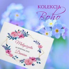Wezwania ślubne - zaproszenia - pracownia KamiArt Boho, Tableware, Dinnerware, Tablewares, Bohemian, Dishes, Place Settings