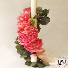 Christening, Candles, Plants, Design, Decor, Flowers, Trunks, Decoration