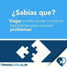 ¿Sabías que viajar ayuda a mejorar tu habilidad para resolver problemas ?