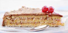 Swedish almond tart