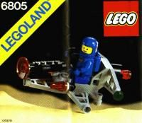 View LEGO instructions for Astro Dasher set number 6805 to help you build these LEGO sets