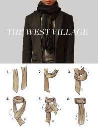 sjaal knopen voor de heren ...