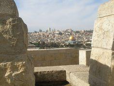Вид с Масличной горы на Иерусалим