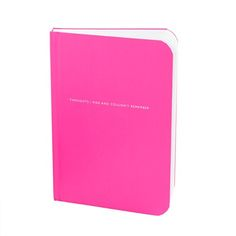 """These notebooks are so functional, I keep them in all my handbags for notes and thoughts. And cute, esp. """"Frogs I Kissed and Liked"""""""