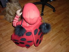 Girls Ladybug Costume Pattern   Your little one will look cute as a bug with this free DIY costume pattern!