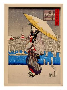 Utagawa Hiroshige was a Japanese ukiyo-e artist, and one of the last great artists in that tradition. He was also referred to as Andō Hiroshige and by the art name of Ichiyūsai Hiroshige.