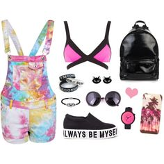 A fashion look from May 2015 featuring denim dungaree, strappy bras and slip-on shoes. Browse and shop related looks. Cool Stuff, Stuff To Buy, Shoe Bag, Polyvore, Swimwear, Shopping, Collection, Shoes, Design