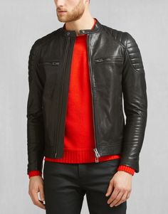 Stoneham Jacket - Black Leather Jackets
