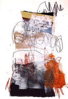 Marie Bortolotto Abstract Collage Art