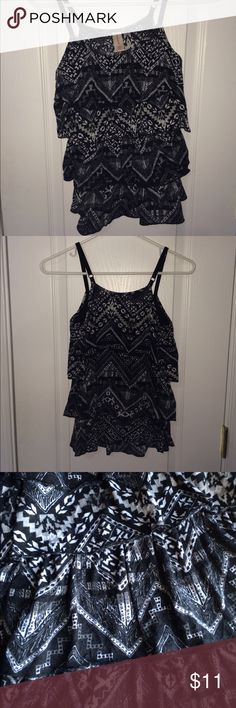 Aztec printed tank top Tank top is great for warm weather! This print is a little different, so original! Tops Tank Tops