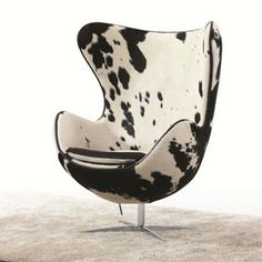 Perfect AVIATOR ARNE JACOBSEN AJ EGG CHAIR   ALUMINIUM SPITFIRE   RED VINTAGE  LEATHER | Basement | Pinterest | Egg Chair, Eggs And Vintage