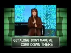 The Mom Song by Christian Comedian Anita Renfroe Entertaining!  A quick must watch