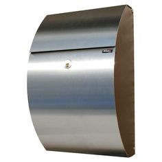 Allux Series Black And Stainless Steel Mailboxes Allux 7000 QualArc Wall Mounted Mailboxes