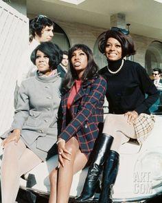 Diana Ross & The Supremes - Cindy, Mary, Diana 70s Inspired Fashion, 70s Fashion, Vintage Fashion, Denim Fashion, Diana Ross Supremes, Vintage Black Glamour, Style Noir, Black Girl Aesthetic, Beautiful Black Women