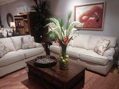 CraftMaster Rachael Ray & Paula Dean featured at Kalin Home Furnishings Ormond Beach, Living Room Seating, Furniture Showroom, Dean, Home Furnishings, Sofa, Home Decor, Settee, Decoration Home