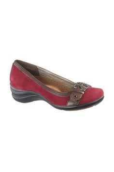Cute! Hush Puppies Edelyn Shoes In Dark Red Suede - $69.99 #Sale