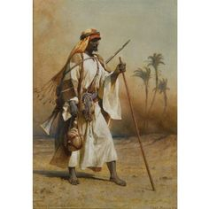 Carl Haag, On the Way from Sinai to Cairo