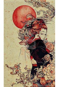 Lady Spring by Feifei Ruan