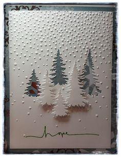 Αποτέλεσμα εικόνας για stampin up christmas cards his lightCut with a die and then layer the positive and negative images. Christmas Card Crafts, Homemade Christmas Cards, Christmas Cards To Make, Xmas Cards, Homemade Cards, Handmade Christmas, Holiday Cards, Christmas Projects, Beautiful Christmas Cards