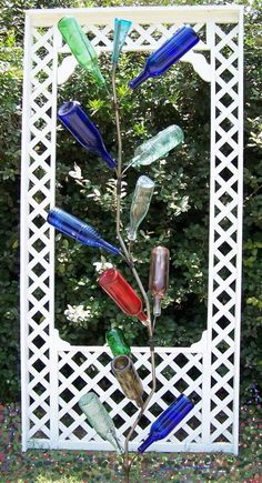 Wine bottle tree...I want one!