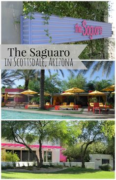 The Saguaro Hotel, Scottsdale, Arizona #scottsdale #arizona #hotel | mybigfathappylife.com
